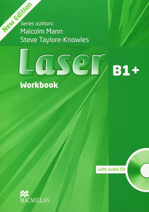 Laser B1: Workbook (+ CD-ROM) laser a1 workbook without key cd