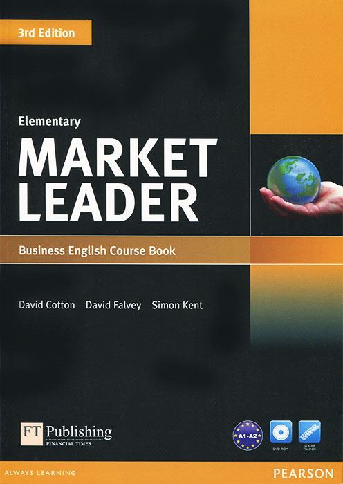 Market Leader: Elementary Business English: Course Book (+ DVD-ROM) murphy r essential grammar in use 3rd edition classware for elementary students of english dvd rom