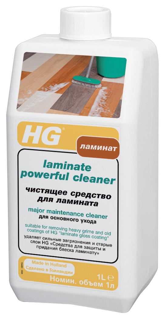 Чистящее средство HG для ламината, 1000 мл чистящее и полирующее средство hg для линолеума и виниловых покрытий 1000 мл