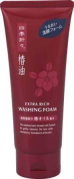 Пенка для умывания Shiki-Oriori с экстрактом камелии, для сухой и нормальной кожи, 130 г017481Супер увлажняющий компонент масло камелии позволяет надолго сохранить кожу увлажненной и придать ей незабываемую цветущую свежесть. Густая пена мягко очищает кожу, а входящее в составрастительное мыло оказывает смягчающее и очищающее действие. Характеристики: Вес: 130 г. Производитель: Япония. Артикул: 007635. Товар сертифицирован.