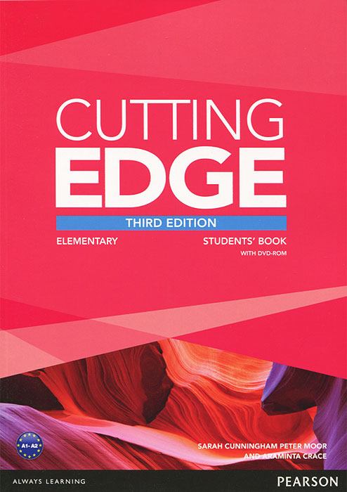 Cutting Edge: Elementary: Students' Book (+ DVD-ROM) cutting edge upper intermediate student s book mini dictionary and cd rom