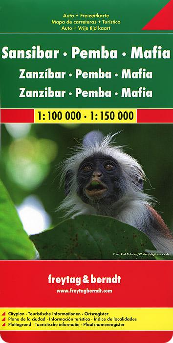Zansibar: Pemba: Mafia: Auto + Freizeitkarte