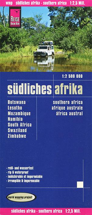 Sudliches Afrika. Карта