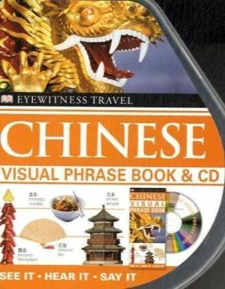 Chinese Visual Phrase Book & CD russian phrase book