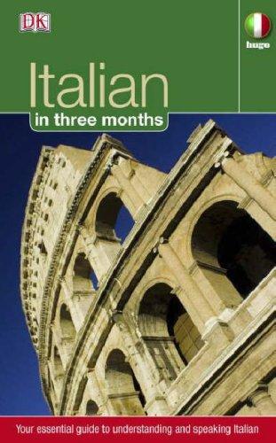 Italian in 3 Months italian visual phrase book