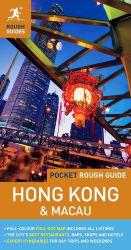Pocket Rough Guide Hong Kong & Macau lonely planet hong kong travel guide