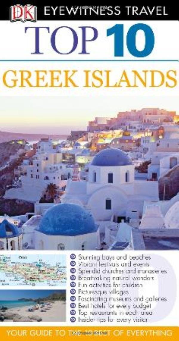 купить DK Eyewitness Top 10 Travel Guide: Greek Islands недорого