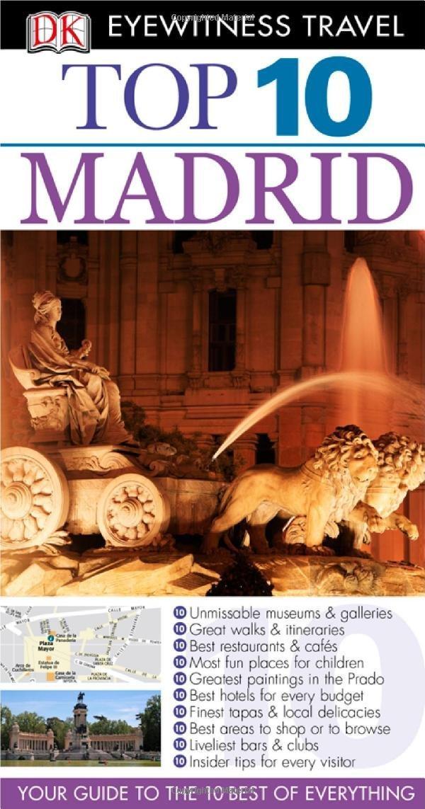 DK Eyewitness Top 10 Travel Guide: Madrid