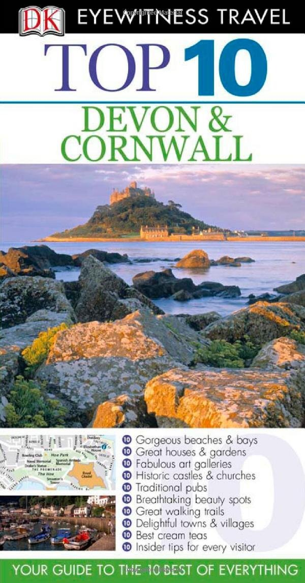 DK Eyewitness Top 10 Travel Guide: Devon & Cornwall top 10 копенгаген