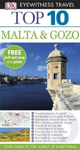 DK Eyewitness Top 10 Travel Guide: Malta & Gozo top 10 копенгаген