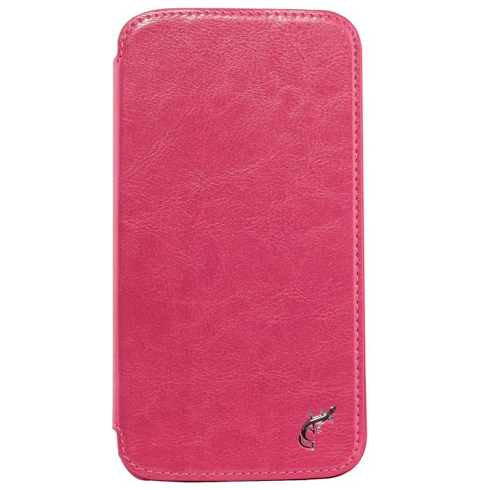 G-case Slim Premium чехол для Samsung GT-I9152 Galaxy Mega 5.8, PinkGG-107Стильный чехол-книжка G-case Slim Premium для Samsung Galaxy Mega 5.8 выполнен из высококачественной кожи и служит для защиты смартфона от царапин, пыли и падений. Чехол надежно фиксирует Ваш телефон, практически не утолщая его. В чехле G-Case Slim Premium все технические отверстия (под кнопки управления, разъем подключения гарнитуры, камеру) в точности выполнены по размерам и местоположению. Благодаря функции подставки Вы можете устанавливать смартфон в несколько положений.