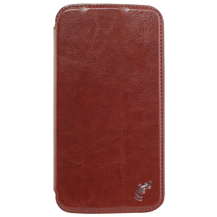 G-case Slim Premium чехол для Samsung GT-I9152 Galaxy Mega 5.8, BrownGG-106Стильный чехол-книжка G-case Slim Premium для Samsung Galaxy Mega 5.8 выполнен из высококачественной кожи и служит для защиты смартфона от царапин, пыли и падений. Чехол надежно фиксирует Ваш телефон, практически не утолщая его. В чехле G-Case Slim Premium все технические отверстия (под кнопки управления, разъем подключения гарнитуры, камеру) в точности выполнены по размерам и местоположению. Благодаря функции подставки Вы можете устанавливать смартфон в несколько положений.