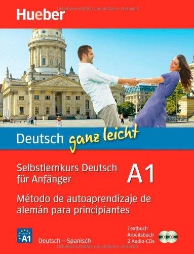 Metodo de autoaprendizaje de aleman para principiantes, Textbuch, Arbeitsbuch u. 2 Audio-CDs el otono aleman