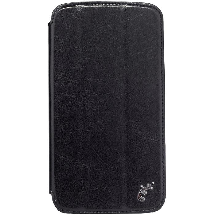G-case Slim Premium чехол для Samsung Galaxy Mega 6.3, BlackGG-97Стильный чехол-книжка G-case Slim Premium для Samsung Galaxy Mega 6.3 выполнен из высококачественной кожи и служит для защиты смартфона от царапин, пыли и падений. Чехол надежно фиксирует Ваш телефон, практически не утолщая его. В чехле G-Case Slim Premium все технические отверстия (под кнопки управления, разъем подключения гарнитуры, камеру) в точности выполнены по размерам и местоположению. Благодаря функции подставки Вы можете устанавливать смартфон в несколько положений.