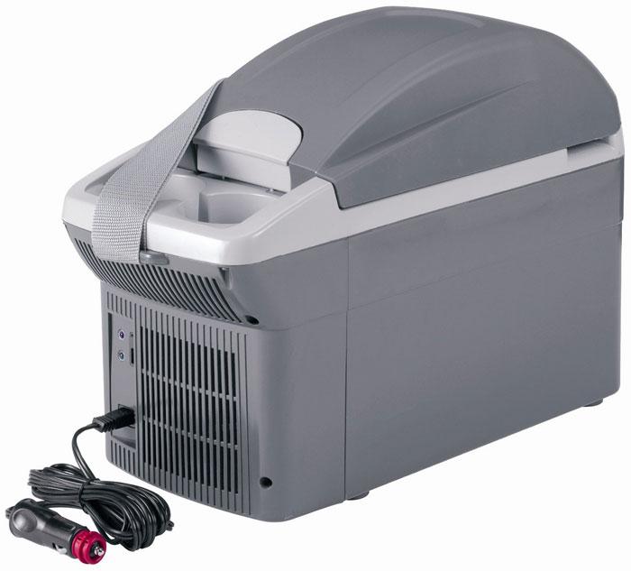 WAECO BordBar TB-08 автохолодильник, 8 лTB-08G-12Термоэлектрический автохолодильник WAECO BordBar TB-08 обеспечивает охлаждение до 20° С ниже температуры окружающей среды и нагрев до + 65° С. В нем Вы можете разместить банки емкостью 0.33 л или бутылки 0.5 лс напитками. Удобная крышка легко открывается одной рукой.
