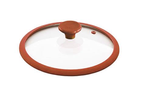 Крышка Rainbow, стеклянная, с силиконовым ободом, цвет: красный. Диаметр 26 смGLSR-26RКрышка Rainbow из жаропрочного стекла с термостойкой ручкой и ободом из силикона(выдерживает температуру до 210 °С) представлена для модельного ряда посуды. Крышки Rainbow можно использовать в духовке и мыть в посудомоечной машине. Характеристики:Материал: стекло, силикон. Диаметр: 26 см. Размер упаковки: 26 см х 26 см х 7 см. Производитель: Китай. Артикул: GLSR-26R.