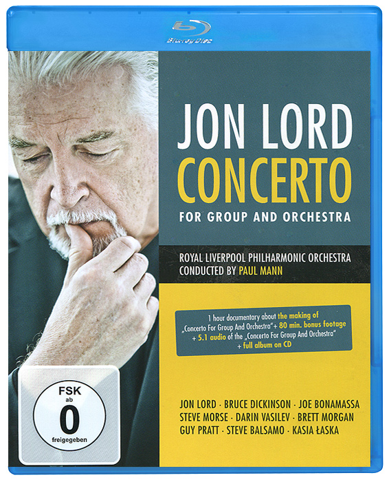 Jon Lord: Concerto For Group And Orchestra (Blu-ray + CD) футболка quelle quelle 921188