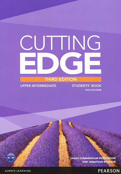 Cutting Edge: Upper Intermediate: Students' Book (+ DVD-ROM) cutting edge upper intermediate student s book mini dictionary and cd rom