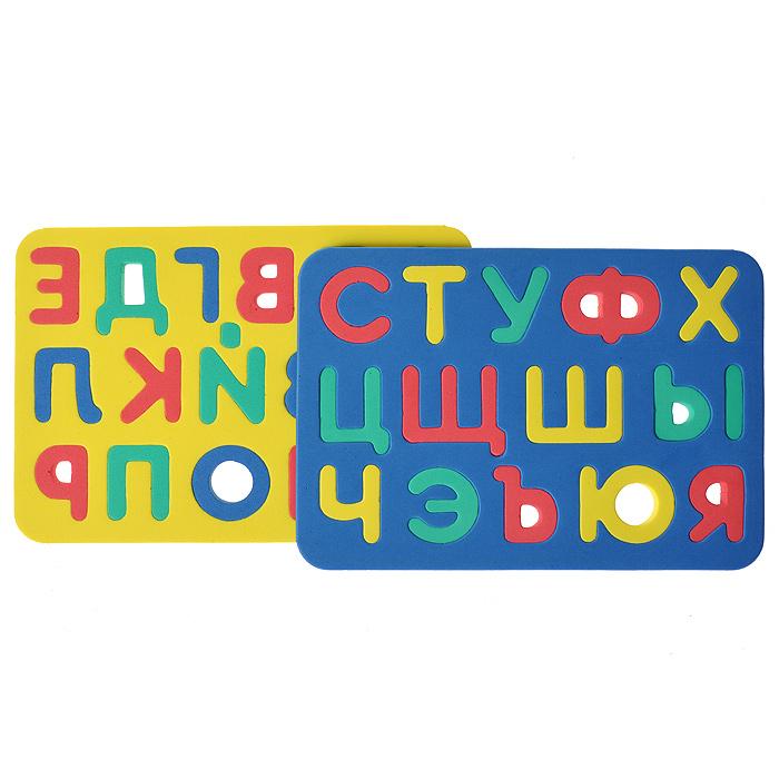 Бомик Пазл для малышей Русский алфавит бомик пазл для малышей цифры цвет основы синий