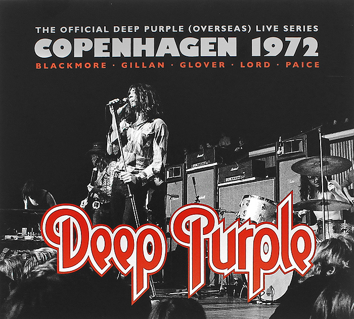 Deep Purple Deep Purple. Copenhagen 1972 (2 CD) deep purple deep purple in concert 2 cd