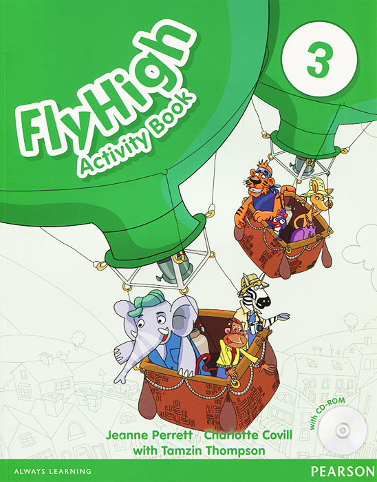 Fly High 3: Activity Book (+ CD-ROM) card tricks and games book
