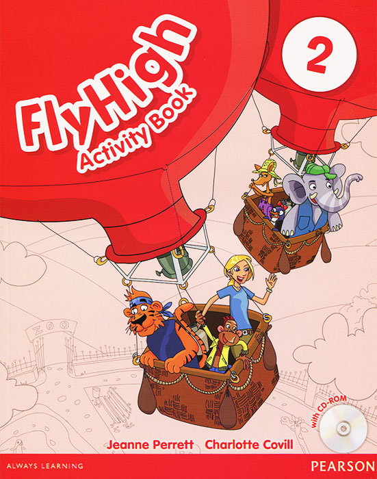 Fly High: Level 2: Activity Book  (+ CD-ROM) merry team 6 activity book audio cd