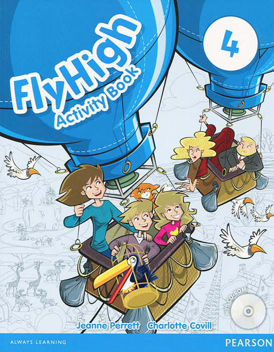 Fly High: Level 4: Activity Book (+ CD-ROM) бордюр blau versalles mold michelle 3 5x25