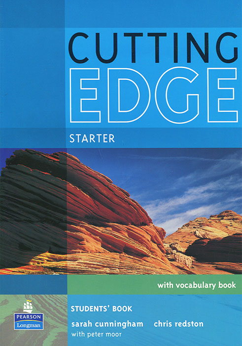 Cutting Edge: Starter: Students' Book with Vocabulary Book (+ CD-ROM) cunningham s new cutting edge intermediate students book cd rom with video mini dictionary