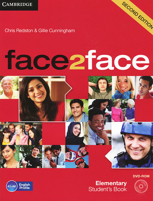 Face2Face: Elementary Student's Book (+ DVD-ROM) others cunningham gillie bell jan face2face 2ed adv sb dvd