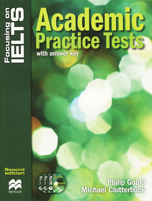 Focusing on Ielts: Academic Practice Tests with Answer Key (+ 3 CD) milton j exams ielts practice tests 2 with answers