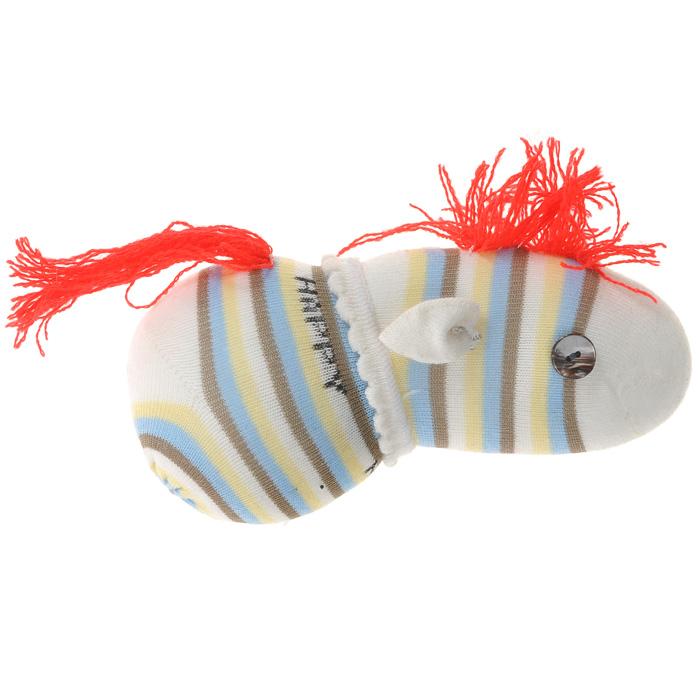 Авторская игрушка Лошадка Носкитос - Ручная работа. НОС010813-24 магнит angelucky влюблённая парочка пластик авторская работа 7 5 х 5 см