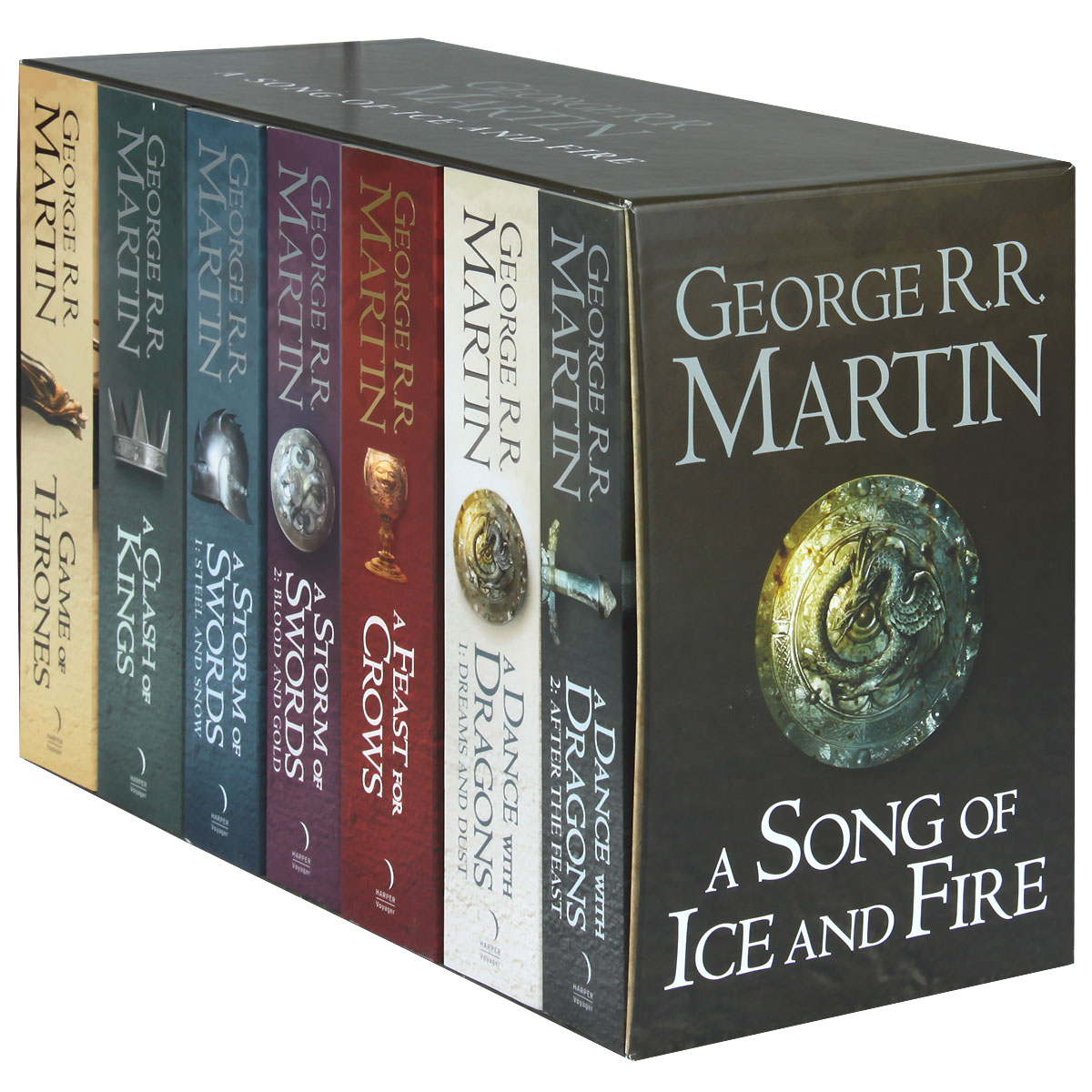 A Song of Ice and Fire (комплект из 7 книг + карта)