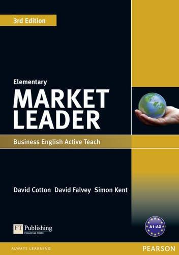 Market Leader Elementary Active Teach: Elementary cotton d market leader business english active teach upper intermediate cd rom b2 c1 3rd edition