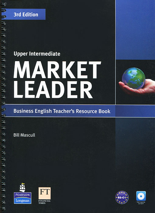 Market Leader: Upper Intermediate: Teacher's Resource Book and Test Master (+ CD-ROM) market leader 3rd edition extra elementary coursebook and myenglishlab pin pack