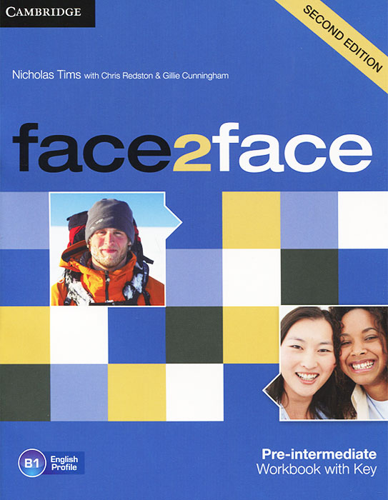 Face2Face: Pre-intermediate Workbook with Key face2face pre intermediate workbook