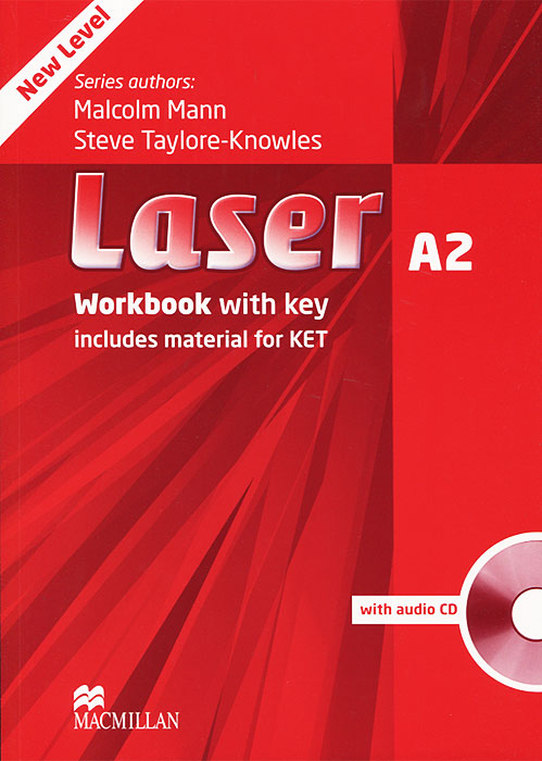 Laser A2: Workbook with Key (+ CD-ROM)