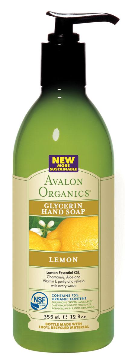 Avalon Organics Глицериновое мыло для рук Лимон, 355 млAV35435Очищающая формула растительного происхождения с уникальной композицией целебных масел, экстрактов и растительного глицерина, нейтрализуя жесткость воды, бережно и тщательно очищает кожу. Обладающее притягательным цитрусовым ароматом и бодрящей свежестью, мыло оберегает уязвимый эпидермальный барьер кожи, эффективно устраняет шелушение, выравнивает цвет и рельеф. Обновляет, омолаживает, делает кожу эластичной и способствует укреплению ногтей. Оказывает антисептическое и противовоспалительное действие, что позволяет применять мыло при кожных проблемах. Характеристики:Объем: 355 мл. Артикул: AV35435. Производитель: США. Товар сертифицирован.