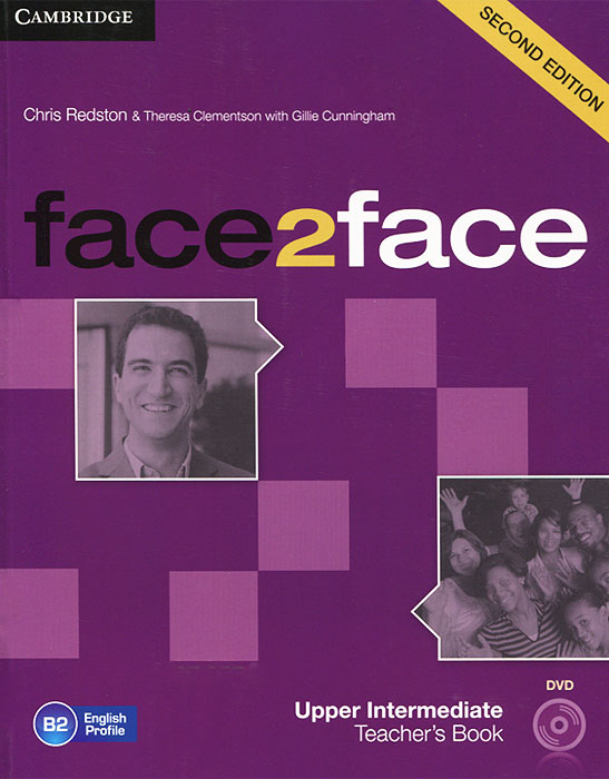 Face2Face: Upper Intermediate Teacher's Book (+ DVD)
