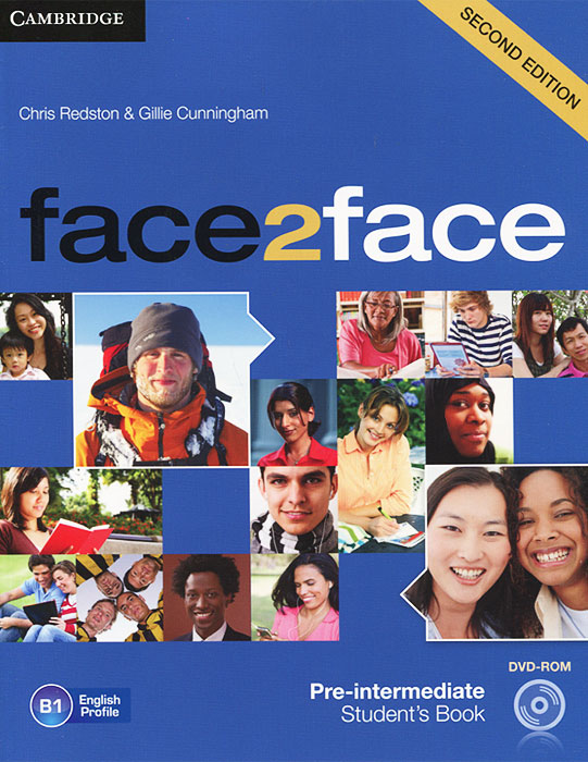 Face2Face: Pre-intermediate Student Book (+ DVD-ROM) face2face advanced student s book dvd rom