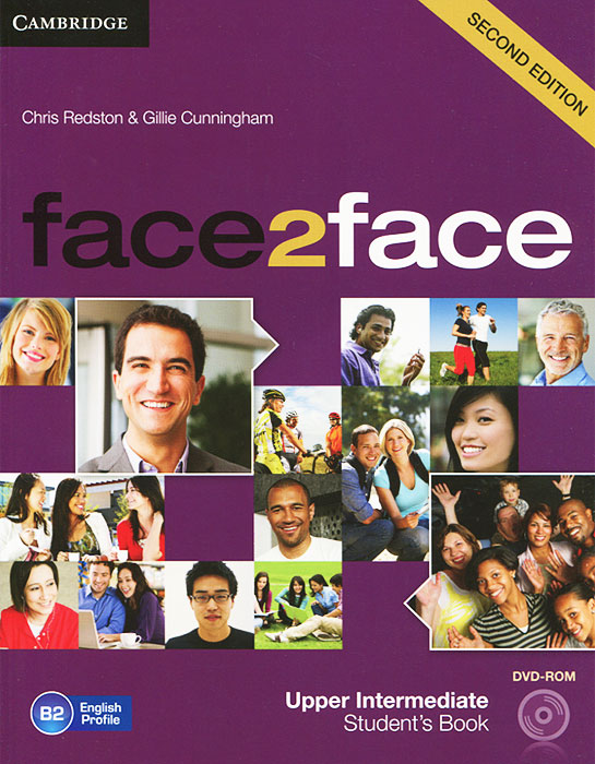 Face2Face: Upper Intermediate Student Book (+ DVD-ROM) total english intermediate student s book dvd rom