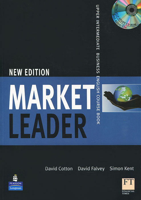 Market Leader: Upper Intermediate Business English Course Book (+ 2 CD-ROM) market leader leader business english practice file upper intermediate cd