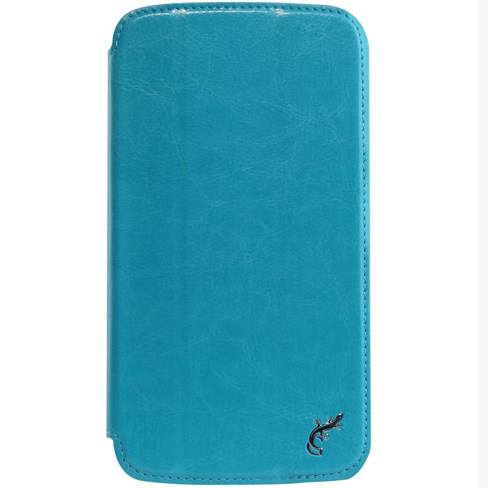 G-case Slim Premium чехол для Samsung Galaxy Mega 6.3, BlueGG-102Стильный чехол-книжка G-case Slim Premium для Samsung Galaxy Mega 6.3 выполнен из высококачественной кожи и служит для защиты смартфона от царапин, пыли и падений. Чехол надежно фиксирует Ваш телефон, практически не утолщая его. В чехле G-Case Slim Premium все технические отверстия (под кнопки управления, разъем подключения гарнитуры, камеру) в точности выполнены по размерам и местоположению. Благодаря функции подставки Вы можете устанавливать смартфон в несколько положений.