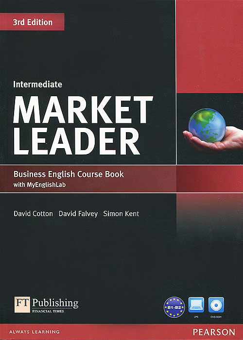 Market Leader: Intermediate Business English Course Book (+ CD-ROM) market leader 3rd edition extra elementary coursebook and myenglishlab pin pack