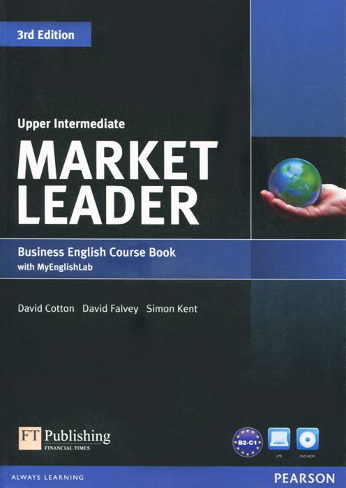 Market Leader: Upper Intermediate: Business English Coursebook (+ DVD-ROM) market leader 3rd edition extra elementary coursebook and myenglishlab pin pack