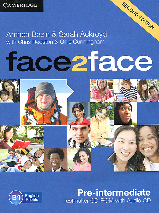 Face2Face: Pre-intermediate: Testmaker CD-ROM and Audio CD redston c face2face intermediate students book with cd rom audio cd
