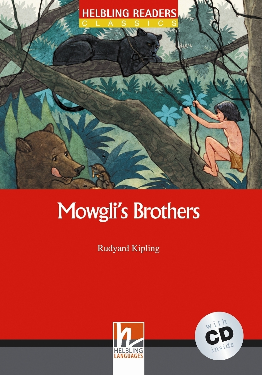 Mowgli`s Brothers + CD (Level 2) by Rudyard Kipling cd диск the doors when you re strange a film about the doors songs from the motion picture 1 cd