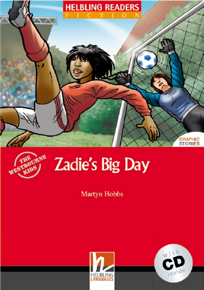 Zadie`s Big Day + CD (Level 1) by Martyn Hobbs dk readers l1 a day at greenhill farm