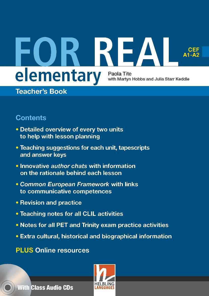 For Real Elementary Teacher's Book + 3 Class CDs + Interactive Book DVD-ROM choices elementary teacher s book dvd rom