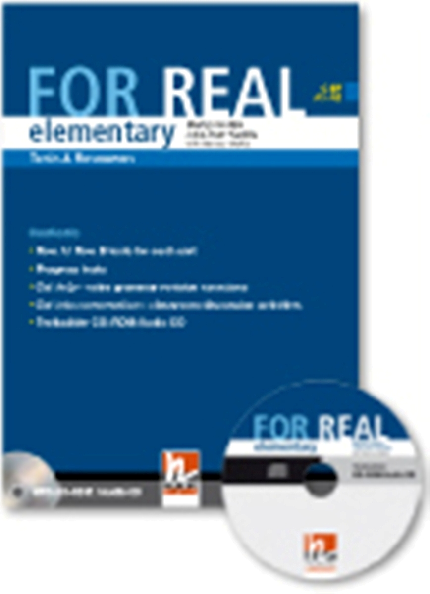 For Real Elementary Tests & Resources + Testbuilder CD-ROM/Audio CD