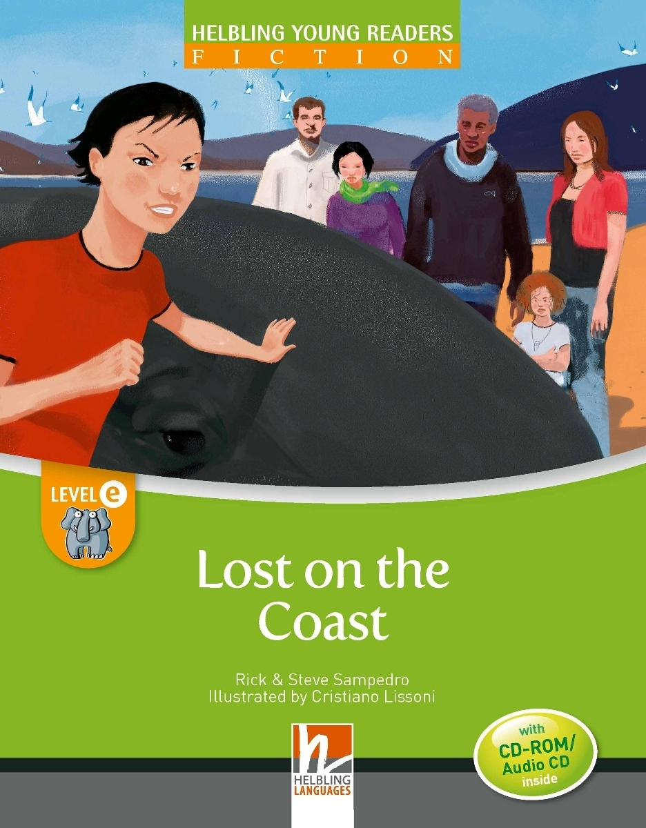 Lost on the Coast + CD-ROM by Rick Sampedro, level E cd диск paradise lost symphony for the lost 3 cd